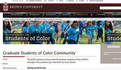 (Image: Screen grab from Brown University website)