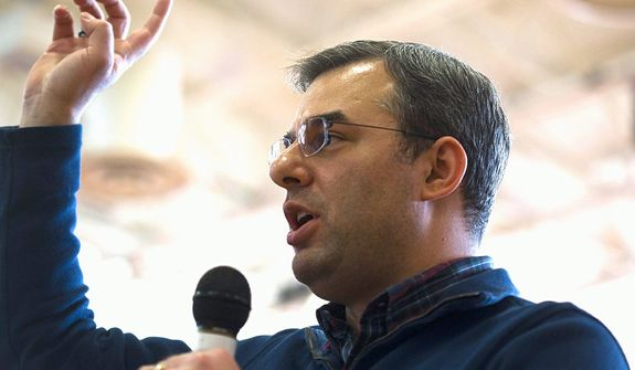Rep. Justin Amash, Michigan Republican. (Associated Press)