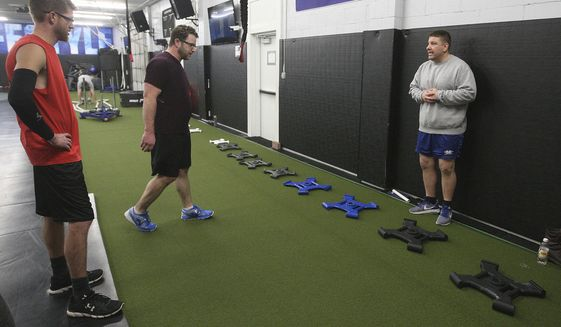 EXCHANGE: Wrestling coach patented new kind of workout gear