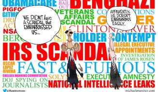 This week in Obama scandals