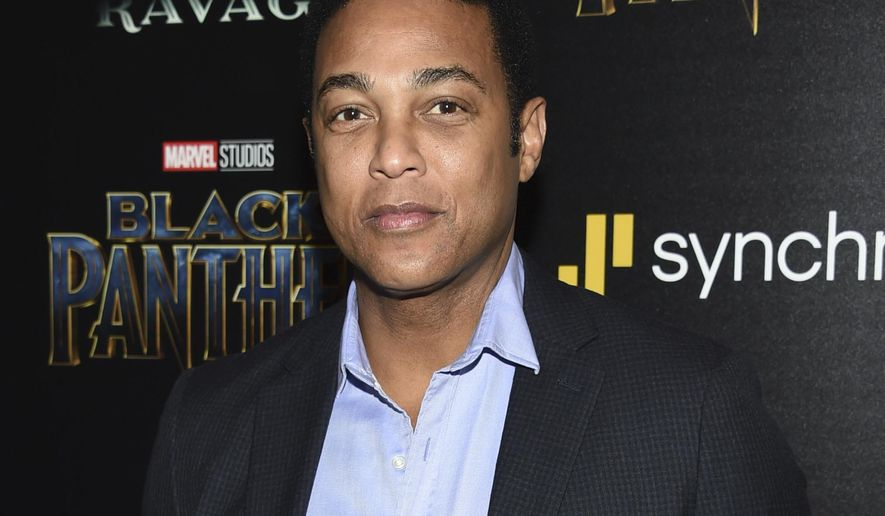 "FILE - In this Feb. 13, 2018 file photo, Don Lemon attends a special screening of ""Black Panther"" in New York. Lemon says he 'misspoke' when he claimed Fox News did not report on the resignation of White House Communication Director Hope Hicks. Lemon called Fox ""Trump TV"" or ""state-run TV"" on his show Wednesday, Feb. 28. (Photo by Evan Agostini/Invision/AP, File)"
