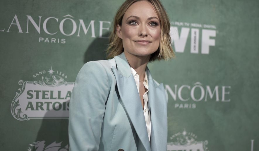 Olivia Wilde attends the 11th Annual Women In Film Pre-Oscar Cocktail Party at Crustacean restaurant on Friday, March 2, 2018, in Los Angeles. (Photo by Richard Shotwell/Invision/AP)