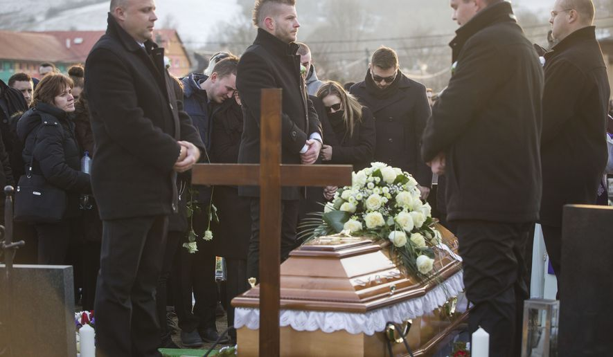 Investigative journalist Jan Kuciak was killed Saturday in Stiavnik, Slovakia, while he was working on a story about the activities of Italian Mafia in his country and their links to people close to Prime Minister Robert Fico. (Associated Press/File)