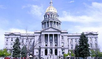 The Colorado State House is shown in this Wikimedia Commons photo. (Public domain, Wikimedia Commons) [https://commons.wikimedia.org/wiki/File:Colo_state_capitol.jpg]