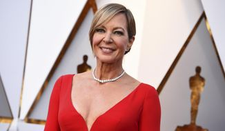 Allison Janney arrives at the Oscars on Sunday, March 4, 2018, at the Dolby Theatre in Los Angeles. (Photo by Jordan Strauss/Invision/AP)