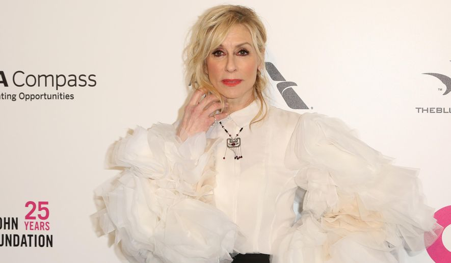 Judith Light arrives at the 2018 Elton John AIDS Foundation Oscar Viewing Party on Sunday, March 4, 2018, in West Hollywood, Calif. (Photo by Willy Sanjuan/Invision/AP)