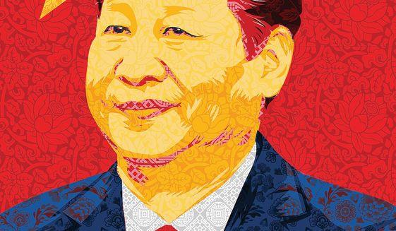 Xi Jinping by Linas Garsys/The Washington Times