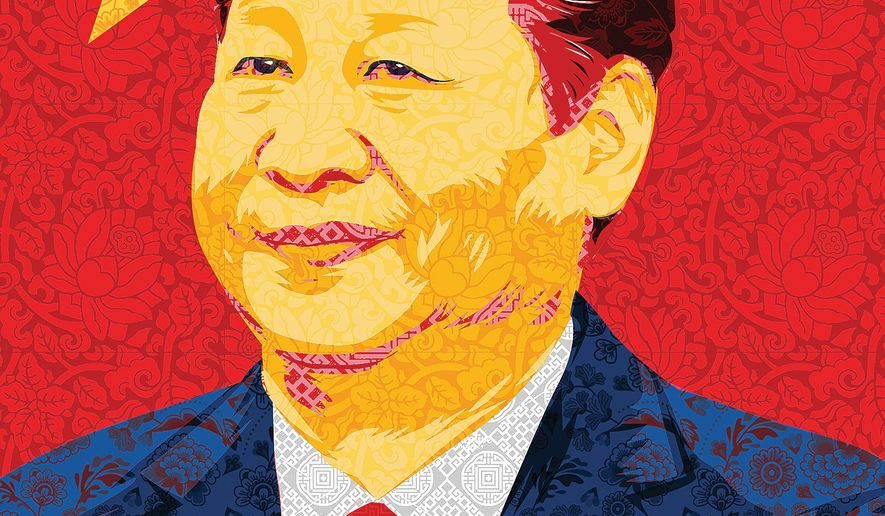 Xi Jinping by Linas Garsys/The Washington Times