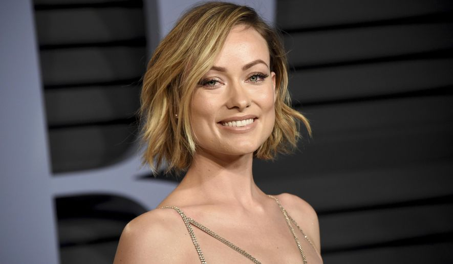 Olivia Wilde arrives at the Vanity Fair Oscar Party on Sunday, March 4, 2018, in Beverly Hills, Calif. (Photo by Evan Agostini/Invision/AP)