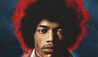 "This cover image released by Experience Hendrix/Legacy Recordings shows ""Both Sides of the Sky,"" by Jimi Hendrix. (Experience Hendrix/Legacy Recordings via AP)"
