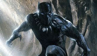 Black Panther (Courtesy Marvel Comics)