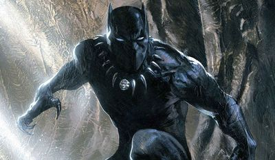 Black Panther (Courtesy Marvel Comics)