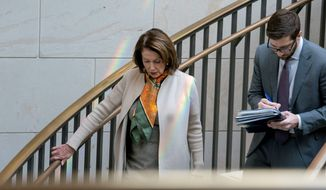 House Minority Leader Nancy Pelosi said Thursday that another fight over adding more detention beds to the system is a major sticking point. (Associated Press)