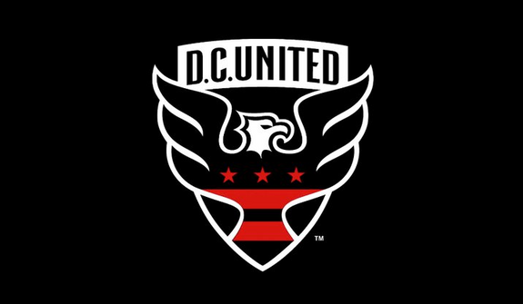 The logo for the MLS club D.C. United. (Image courtesy of Twitter / @dcunited)