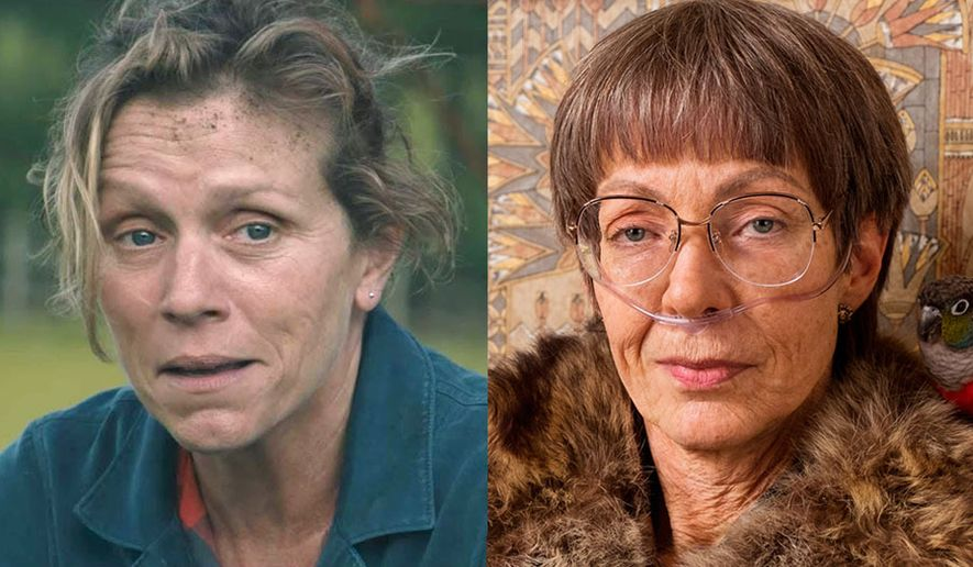 "Now available on Blu-ray, Frances McDormand co-stars in ""Three Billboards Outside Ebbing, Missouri"" and Allison Janney co-stars in ""I, Tonya."""
