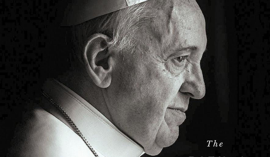 """This cover image released by St. Martin's Press shows """"A Future of Faith: The Path of Change in Politics and Society,"""" by Pope Frances with Dominique Wolton which will be published Aug. 7 in the U.S. and the U.K..(St. Martin's Press via AP)"""