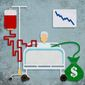 Medical Supply Shortage Effect Illustration by Greg Groesch/The Washington Times