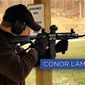 Pennsylvania Democrat Conor Lamb shows his prowess with an AR-15 in a campaign ad released in January. He won the special election. (Conor Lamb)