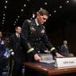 """I cannot tell you that we have seen decisive changes in the areas in which we're working, but I remain very well-engaged with my partner to ensure that we are moving forward,"" said Gen. Joseph L. Votel. (Associated Press)"