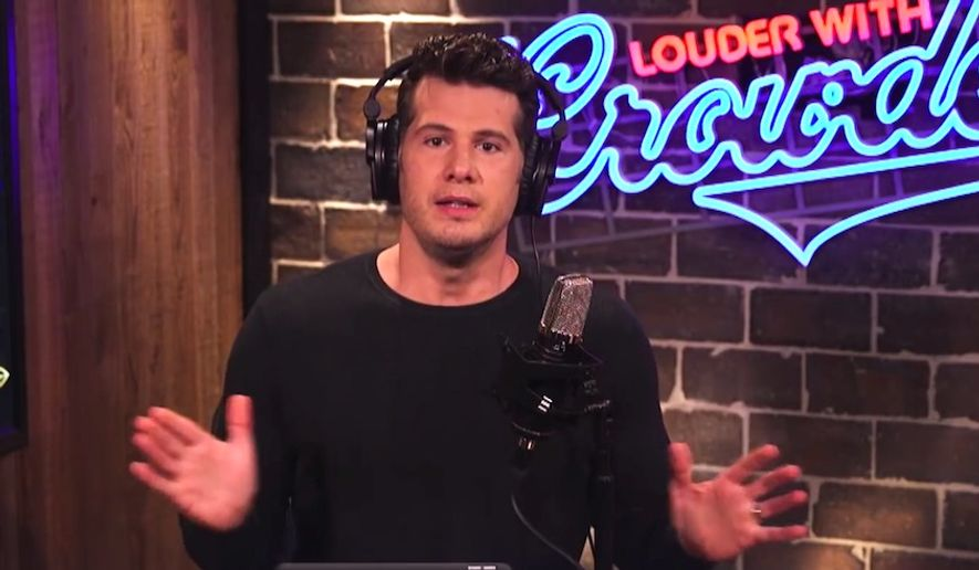 """Comedian Steven Crowder received a one-week Twitter suspension after posting an undercover video of a """"gender fluidity"""" panel at the annual South by Southwest festival in Austin, Texas, March 13, 2018. (Image: YouTube, Louder with Crowder)"""