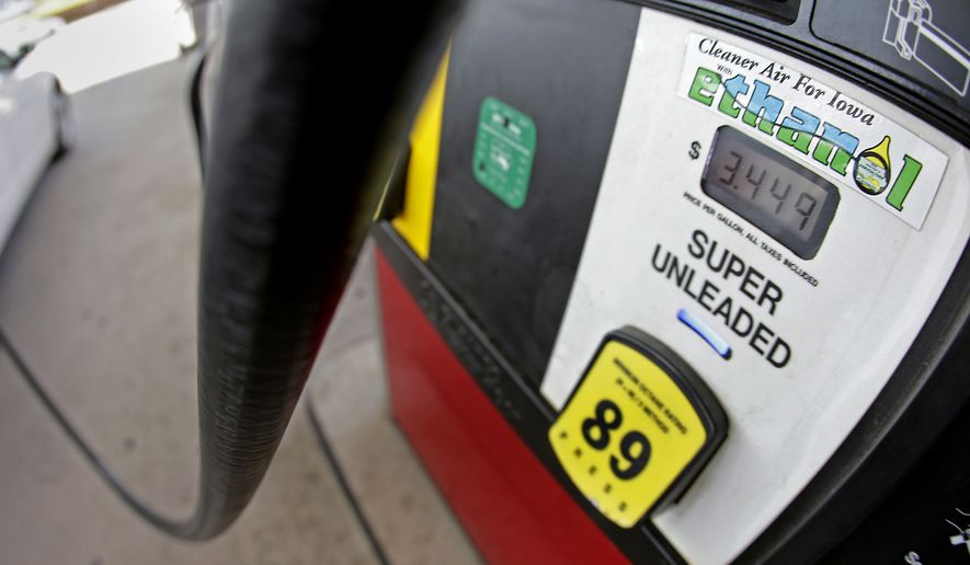 The intense opposition to the Renewable Fuel Standard which boosted ethanol use from environmental and conservation groups comes as the White House and congressional leaders work to craft the most serious reforms the program has seen since it was established more than 10 years ago. (AP Photo/Charlie Riedel, File)