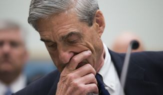 Special counsel Robert Mueller is mandated to submit a confidential report to the attorney general at the conclusion of his investigation, but there are major ambiguities about whether a full release of the information would be in the public interest. (Associated Press/File)