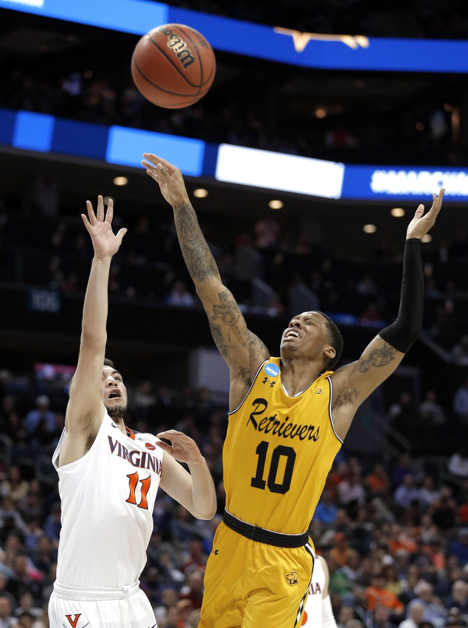 No. 16 UMBC stuns No. 1 Virginia 74-54 to make NCAA history - Washington  Times 315e7bf98