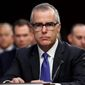 Accusations that got Andrew McCabe fired stem from his role in FBI investigations surrounding the 2016 presidential election, including the probe into Hillary Clinton's use of a private email server. (Associated Press/File)