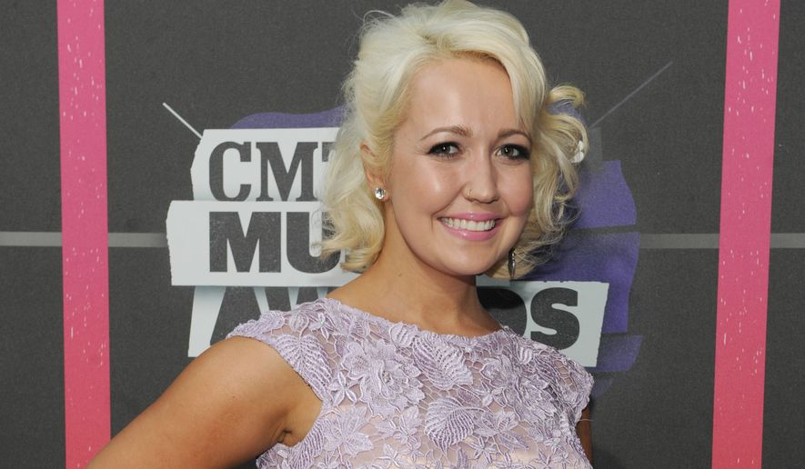 Meghan Linsey arrives at the 2013 CMT Music Awards at Bridgestone Arena on Wednesday, June 5, 2013, in Nashville, Tenn. (Photo by Frank Micelotta/Invision/AP)