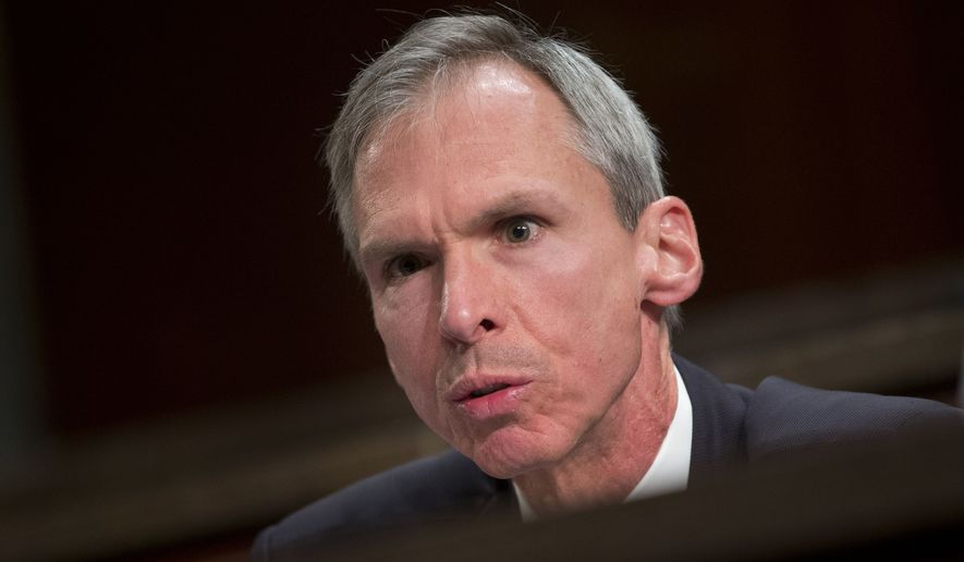 In this April 14, 2016, photo, Rep. Dan Lipinski, Illinois Democrat, speaks on Capitol Hill in Washington. (Associated Press) **FILE**