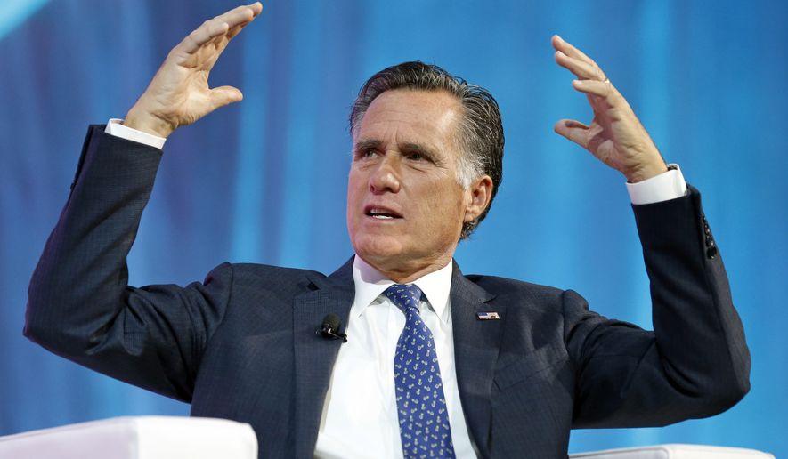 Mitt Romney's Senate run pegged as 'steppingstone' to challenge Trump in 2020