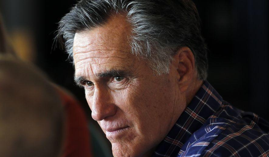 Mitt Romney: I'm 'more of a hawk on immigration' than Trump