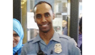 "FILE - In this May 2016 image provided by the City of Minneapolis, police officer Mohamed Noor poses for a photo at a community event welcoming him to the Minneapolis police force. Noor fatally shot Justine Damond, an Australian native on July 15, 2017. Hennepin County Attorney Mike Freeman, a Minnesota prosecutor said he doesn't yet have enough evidence to charge Noor who killed Damond, blaming investigators who ""haven't done their job."" (City of Minneapolis via AP, File)"