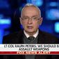 Retired Lt. Col. Ralph Peters appearing on Fox News Feb. 24, 2018. (Fox News)