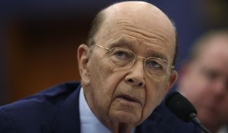 Commerce Secretary Wilbur Ross testifies before a House Committee on Appropriation subcommittee hearing on Capitol Hill in Washington, Tuesday, March 20, 2018. (AP Photo/Pablo Martinez Monsivais)