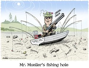 Mr. Mueller's fishing hole