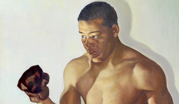 Joe Louis. (National Portrait Gallery)
