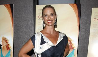 """In this file photo, former Fox News anchor Laurie Dhue attends an IFC Films screening of """"Cairo Time"""" in New York, on Monday, July 26, 2010. (AP Photo/Peter Kramer) **FILE**"""