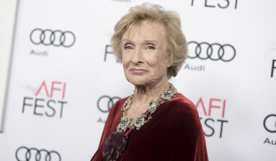 "In this Nov. 11, 2016, file photo, Cloris Leachman attends the premiere of ""The Comedian"" during the 2016 AFI Fest in Los Angeles. (Photo by Richard Shotwell/Invision/AP, File)"