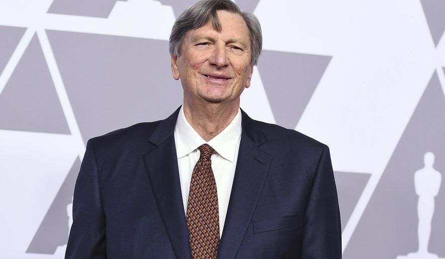 FILE - In this Feb. 5, 2018 file photo, John Bailey arrives at the 90th Academy Awards Nominees Luncheon at The Beverly Hilton hotel in Beverly Hills, Calif. In a memo sent to staff of the Academy of Motion Picture Arts and Sciences,  Bailey said an allegation that he attempted to touch a woman inappropriately a decade ago on a movie set is untrue. Bailey also said in the Friday, March 24  memo that media reports linking him to misconduct are false. He said the claims serve only to tarnish his 50-year career as a cinematographer, adding that he expects to be exonerated.(Photo by Jordan Strauss/Invision/AP)