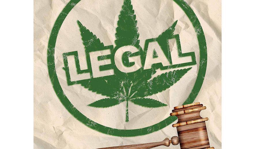 Honoring States' Rights on Marijuana Illustration by Greg Groesch/The Washington Times