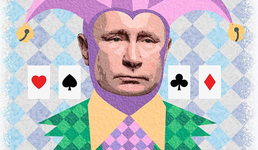 Putin's Russia Becomes a Wild Card Illustration by Greg Groesch/The Washington Times