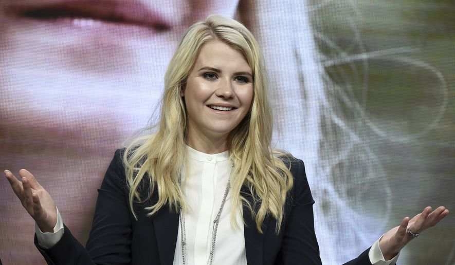 "Elizabeth Smart attends the ""I am Elizabeth Smart"" panel during the A&E portion of the 2017 Summer TCA's at the Beverly Hilton Hotel on Friday, July 28, 2017, in Beverly Hills, Calif. (Photo by Richard Shotwell/Invision/AP)"