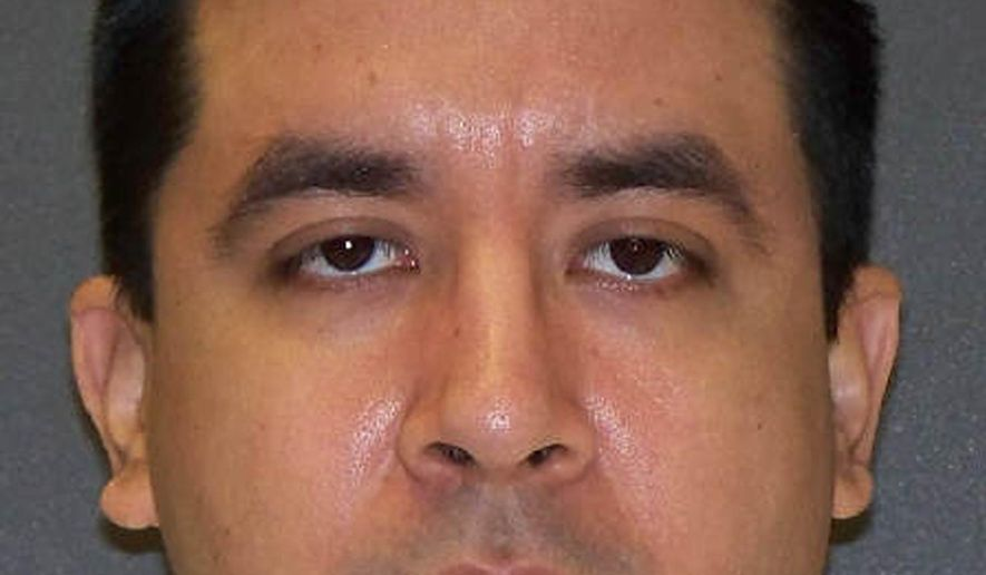 "This undated photo provided by the Texas Department of Criminal Justice shows Rosendo Rodriguez III. Attorneys for the Texas death row inmate known as the ""suitcase killer"" have appealed to the U.S. Supreme Court to halt his scheduled execution this week for the slaying of a Lubbock woman whose body was stuffed inside a suitcase dumped in the trash. Rodriguez III, of San Antonio, was condemned for the 2005 killing of 29-year-old Summer Baldwin, identified in court documents as a prostitute. (Texas Department of Criminal Justice via AP)"
