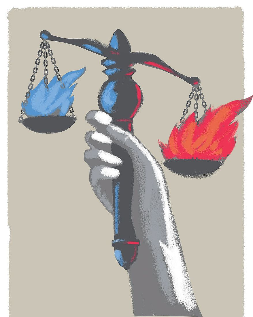 Fair and Free Elections Illustration by Linas Garsys/The Washington Times