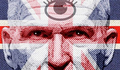 Brenner Getting Intel from the Brits Illustration by Greg Groesch/The Washington Times
