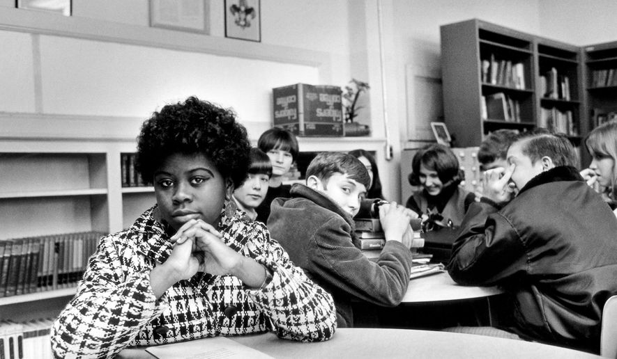 CORRECTS AGE TO 75, INSTEAD OF 76 - FILE - This undated file photo, location unknown, shows Linda Brown. Brown, the Kansas girl at the center of the 1954 U.S. Supreme Court ruling that struck down racial segregation in schools, has died at age 75. Peaceful Rest Funeral Chapel of Topeka confirmed that Linda Brown died Sunday, March 25, 2018. (AP Photo/File)