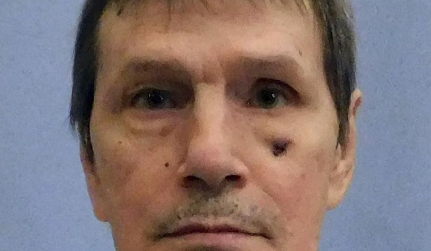 This undated photo the Alabama Department of Corrections shows inmate Doyle Lee Hamm. Alabama will not make a second attempt to execute an ailing Hamm who had his lethal injection halted last month when the team could not find a usable vein, his attorney said Tuesday, March 27, 2018. Hamm was scheduled to be put to death for the 1987 slaying of motel clerk Patrick Cunningham. (Alabama Department of Corrections via AP)