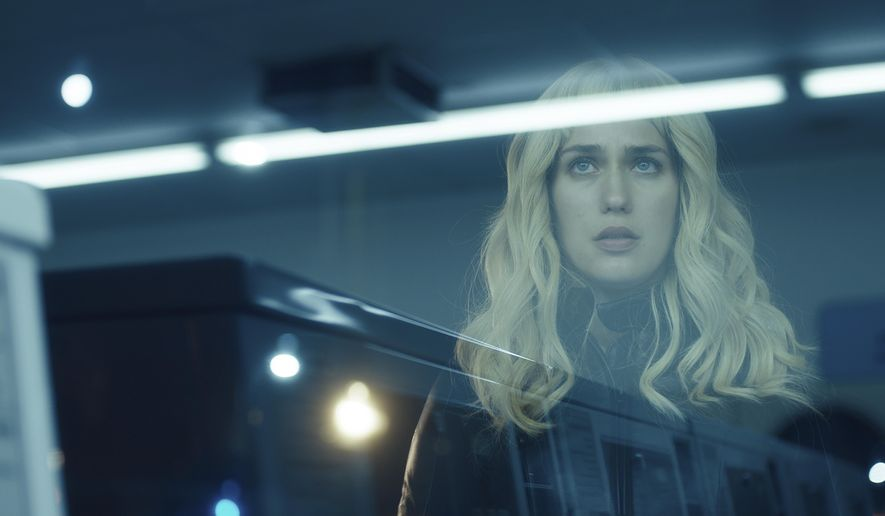 "This image released by Neon shows Lola Kirke in a scene from ""Gemini."" (Neon via AP)"