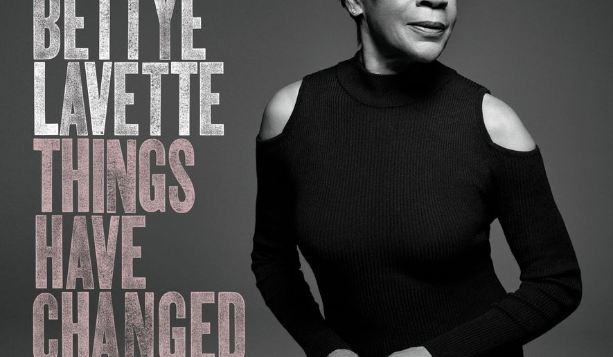 "This cover image released by Verve Records shows ""Things Have Changed,"" by Bettye Lavette. (Verve Records via AP)"